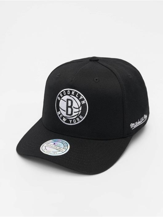 Mitchell & Ness Snapback Cap NBA Brooklyn Nets 110 black