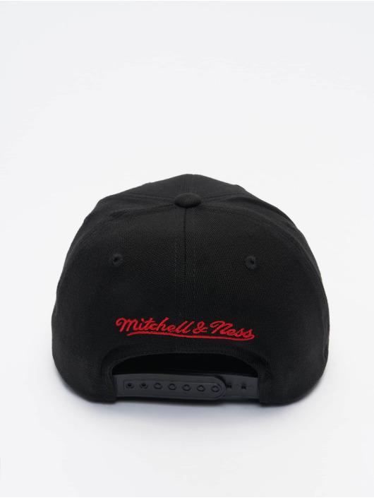 Mitchell & Ness Snapback Cap Duotone Redline Chicago Bulls black