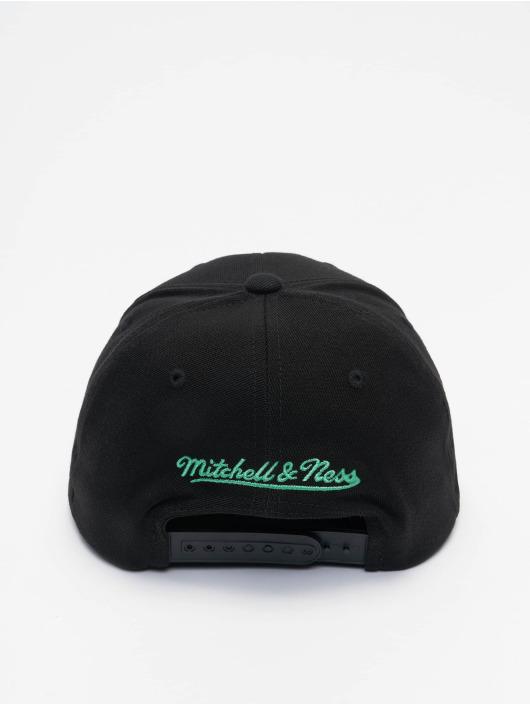 Mitchell & Ness Snapback Cap Nitro Wave Redline black