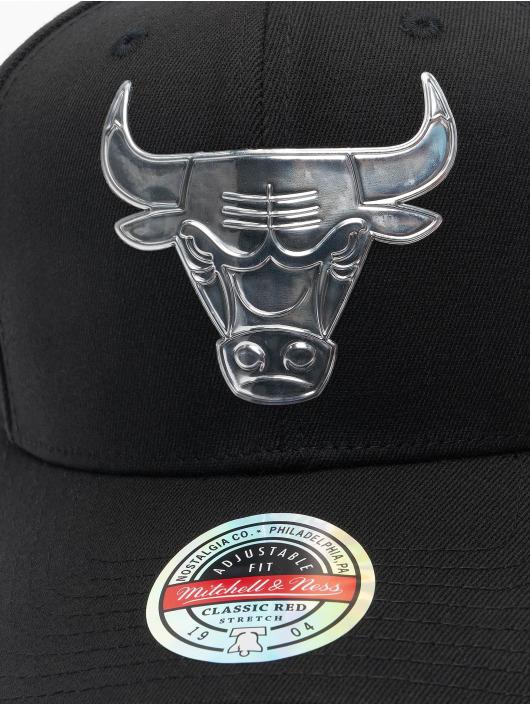 Mitchell & Ness Snapback Cap Cyber Redline Chicago Bulls black