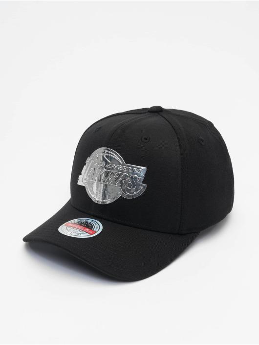 Mitchell & Ness Snapback Cap Cyber Redline black