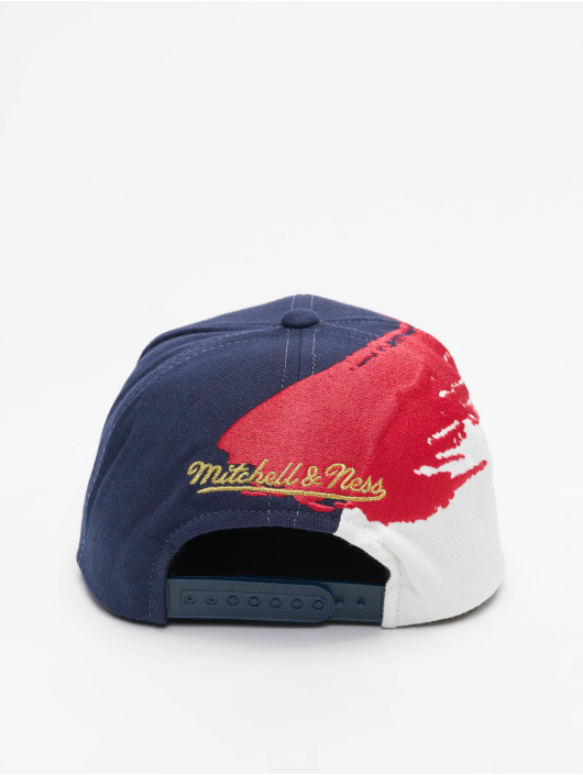 Mitchell & Ness Snapback Cap Independence Chicago Bulls blau