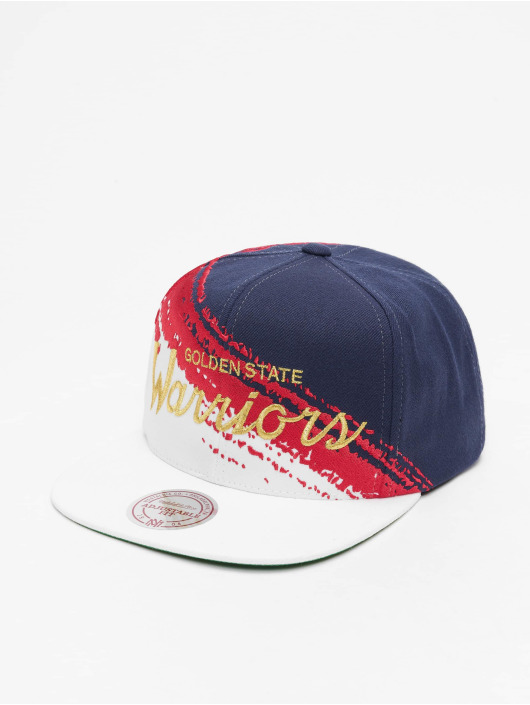 Mitchell & Ness Snapback Cap Independence Golden State Warriors blau