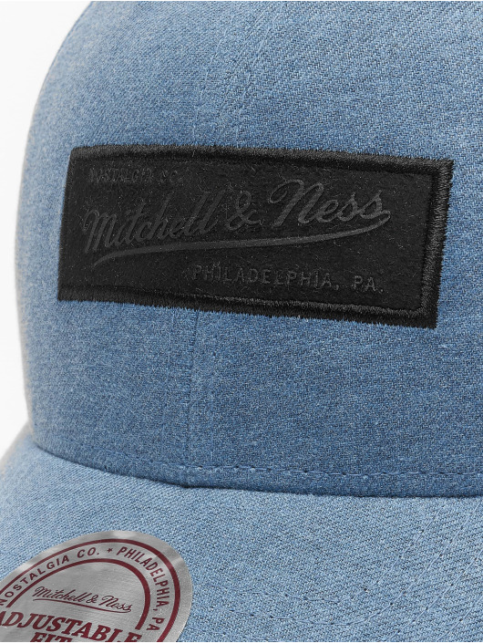 Mitchell & Ness snapback cap Erode blauw