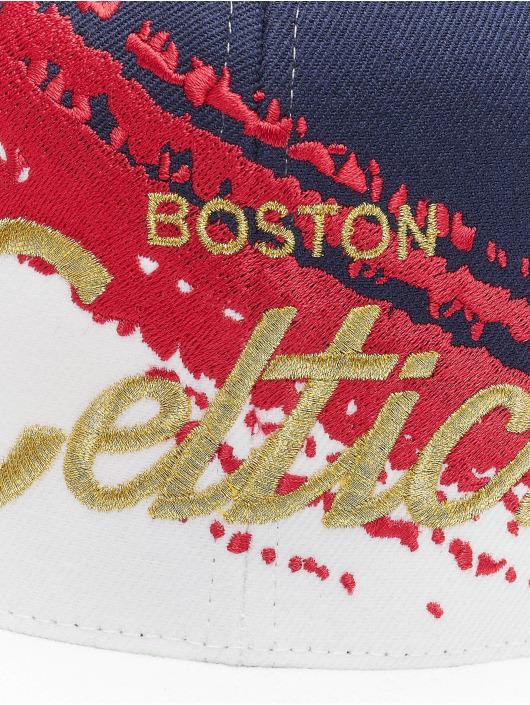Mitchell & Ness Snapback Cap Independence Boston Celtics blu