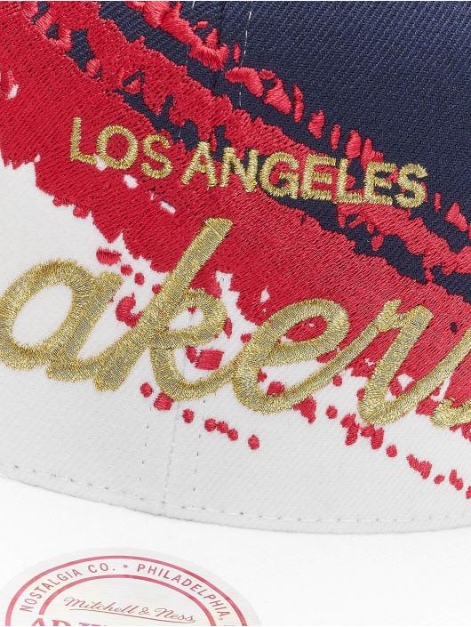 Mitchell & Ness Snapback Cap Independence LA Lakers blu