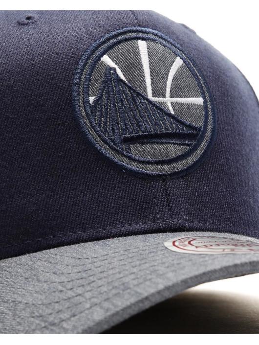 Mitchell & Ness Snapback Cap NBA Heather 2-Tone Golden State Warriors blue