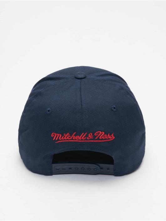 Mitchell & Ness Snapback Cap NBA Team Logo High Crown 6 Panel 110 Philadelphia 76ers blue