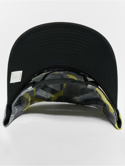 Mitchell & Ness Snapback Cap NBA Flou Camo Chicago Bulls 110 Curved camouflage