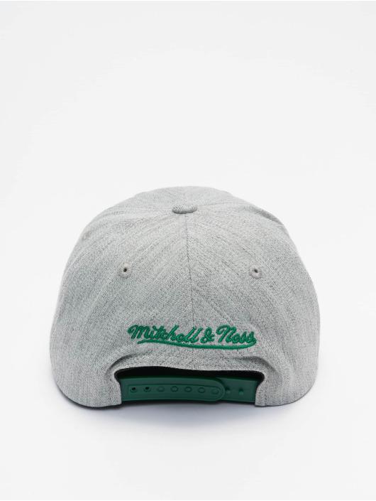 Mitchell & Ness Snapback Cap Team Heather Redline Boston Celtics grau