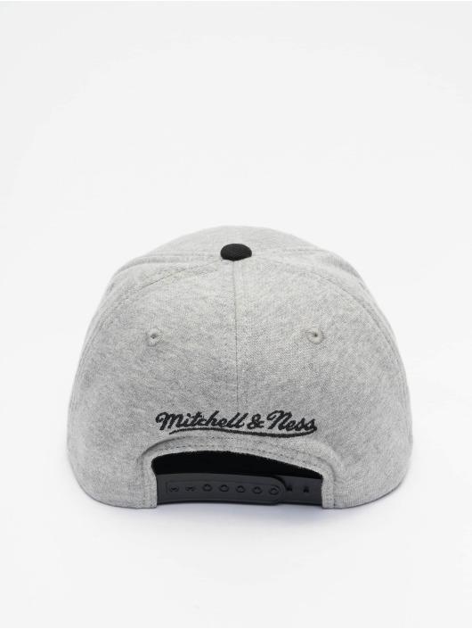 Mitchell & Ness Snapback Cap 186 Redline Miami Heat grau