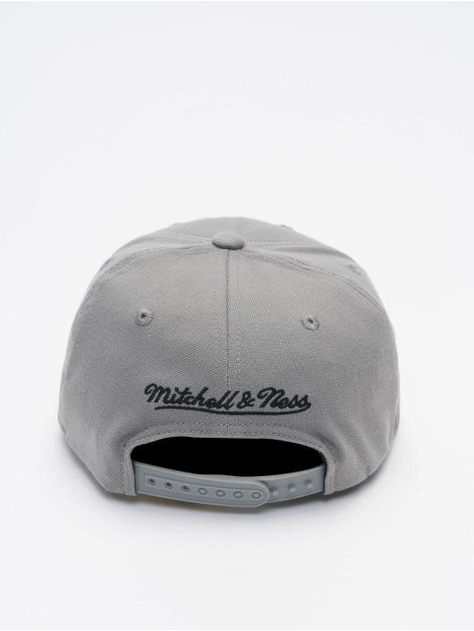Mitchell & Ness Snapback Cap Pinscript Redline Branded grau