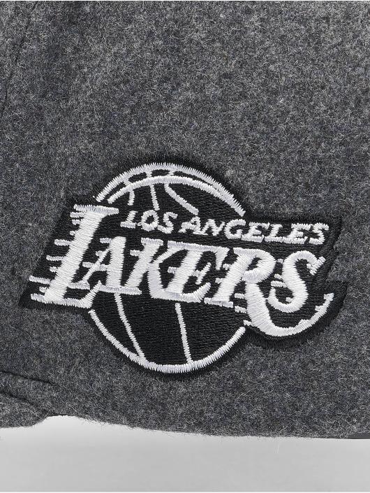 Mitchell & Ness Snapback Cap NBA Los Angeles Lakers Melton COD grau