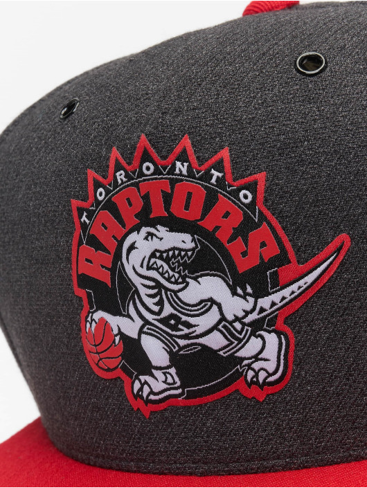 Mitchell & Ness Snapback Cap HWC Toronto Raptors Woven Reflective gray