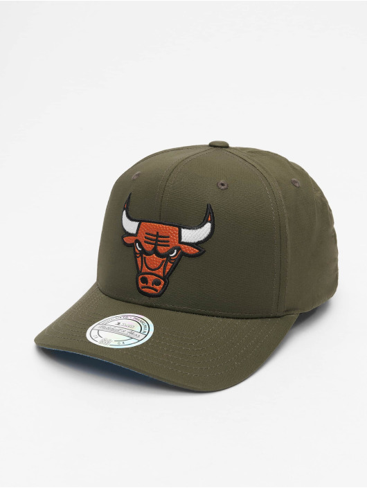 Mitchell & Ness Snapback Cap NBA Battle Chicago Bulls green