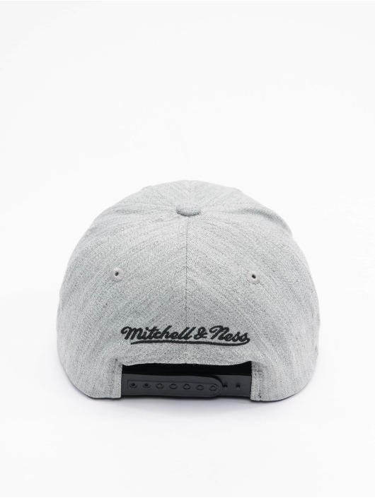 Mitchell & Ness Snapback Cap Team Heather Redline Brooklyn Nets grey