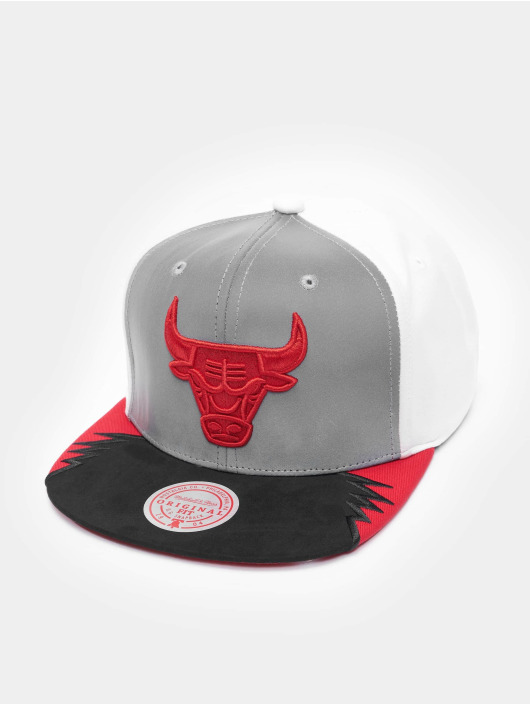 Mitchell & Ness Snapback Cap Day 5 Chicago Bulls grey