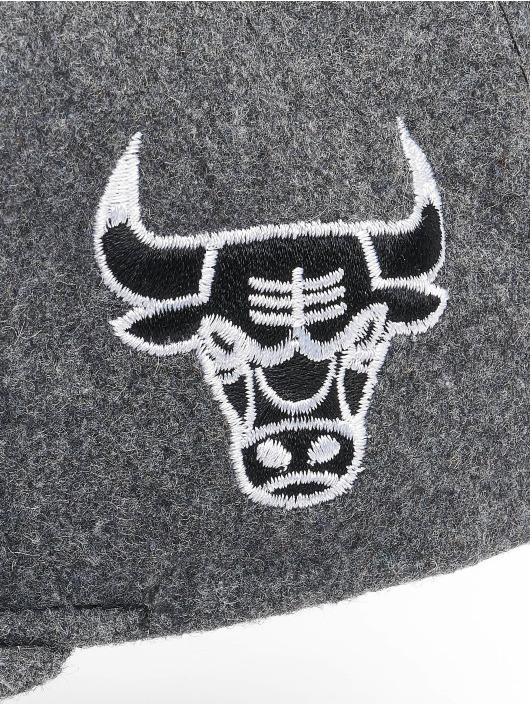Mitchell & Ness Snapback Cap NBA Chicago Bulls Melton COD grey
