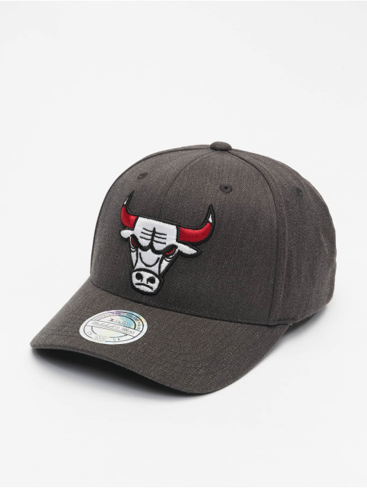 Mitchell & Ness Snapback Cap NBA Chicago Bulls Team Pop grigio