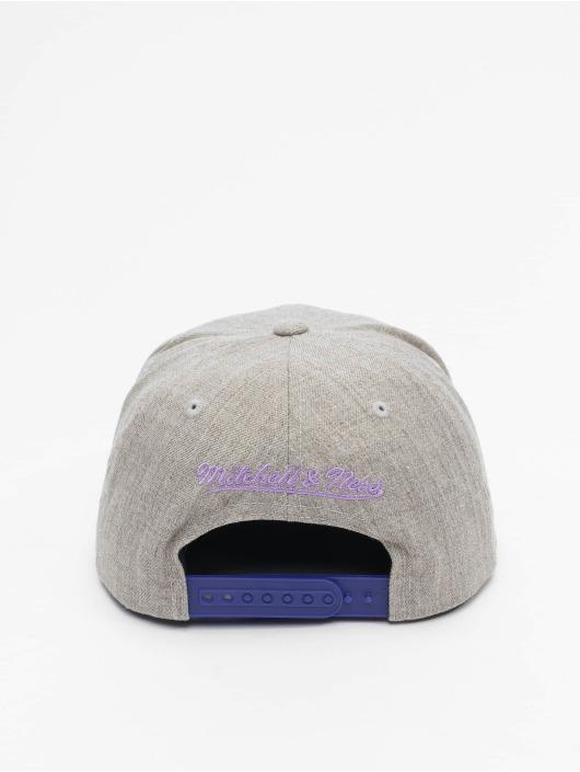 Mitchell & Ness Snapback Cap Team Heather HWC Los Angeles Lakers grigio