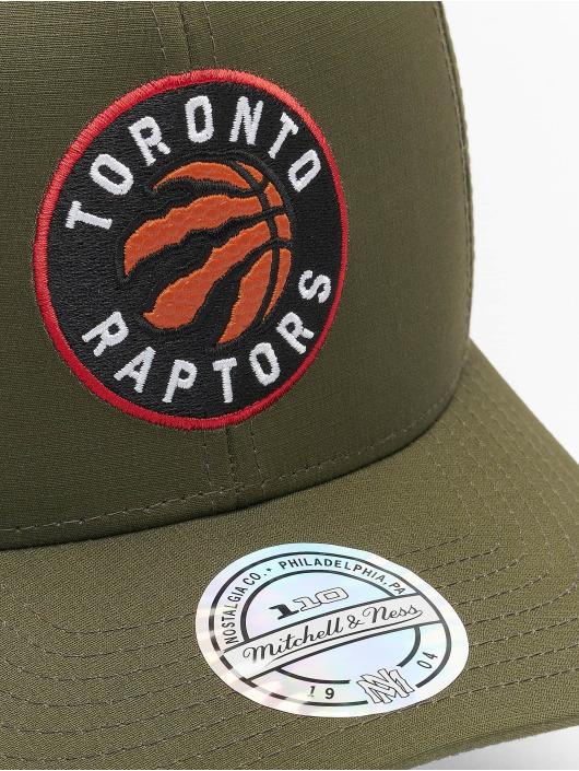 Mitchell & Ness Snapback Cap NBA Battle Toronto Raptors grün