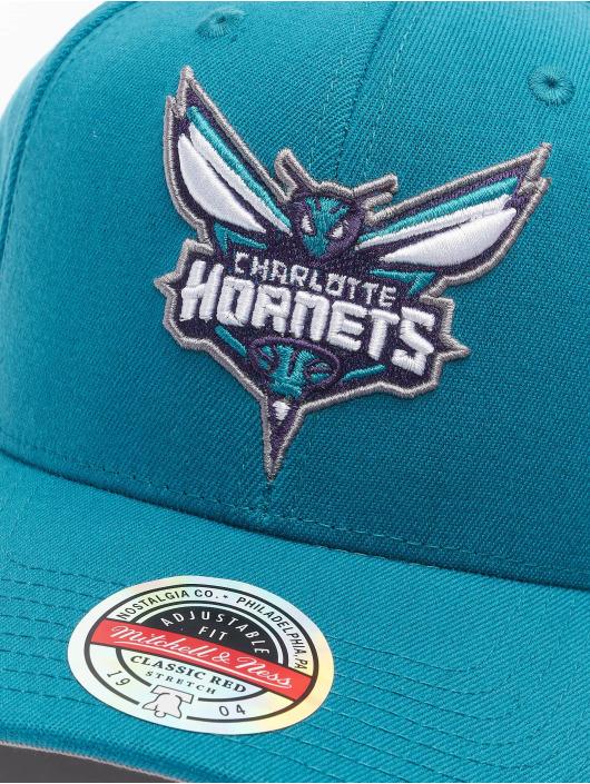 Mitchell & Ness Snapback Cap Team Ground Charlotte Hornets Stretch grün