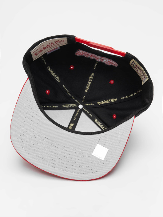 Mitchell & Ness Snapback Cap Chicago Bulls HWC Team Arch nero