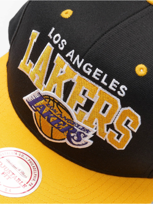 Mitchell & Ness Snapback Cap LA Lakers HWC Team Arch nero