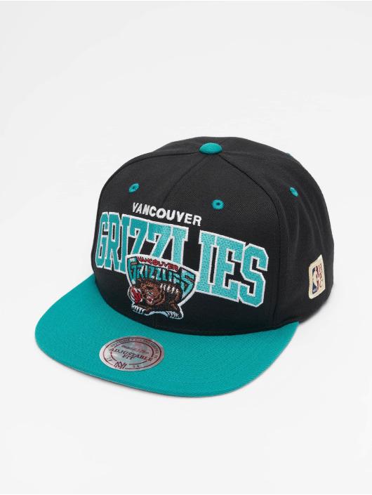 Mitchell & Ness Snapback Cap Vancouver Grizzlies HWC Team Arch nero