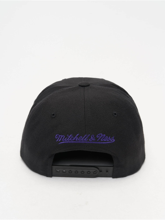 Mitchell & Ness Snapback Cap NBA Wool Solid nero