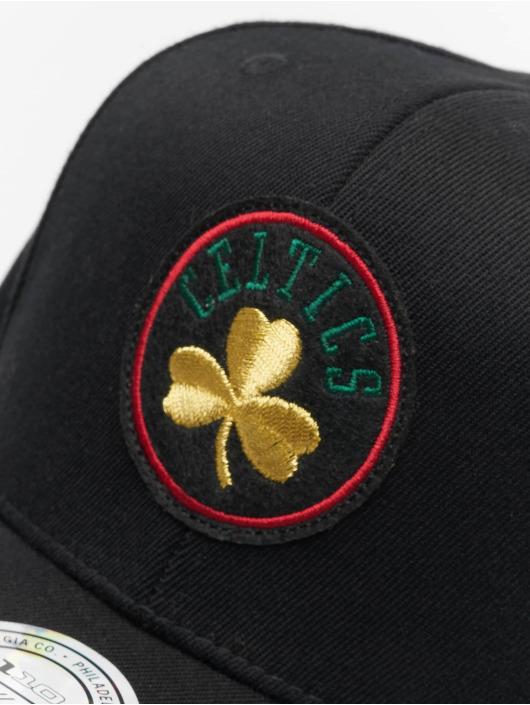 Mitchell & Ness Snapback Cap NBA Boston Celtics Luxe 110 nero