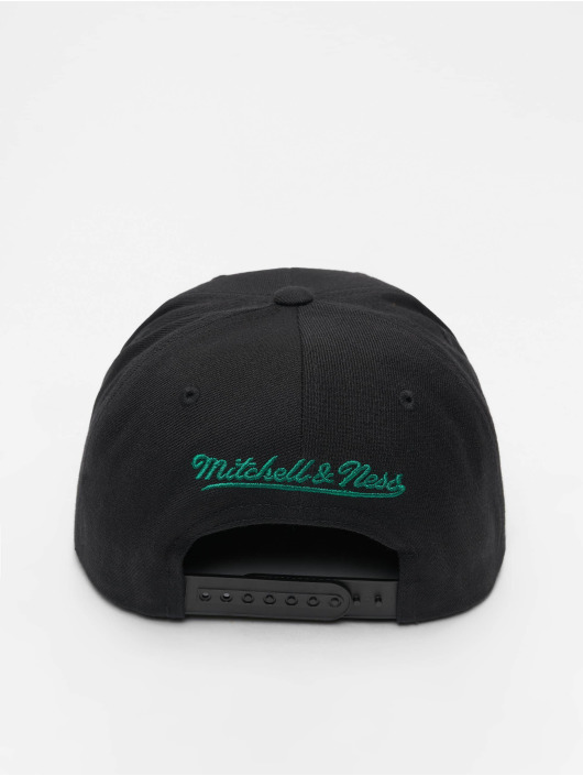 Mitchell & Ness Snapback Cap NBA Boston Celtics Wool Solid nero