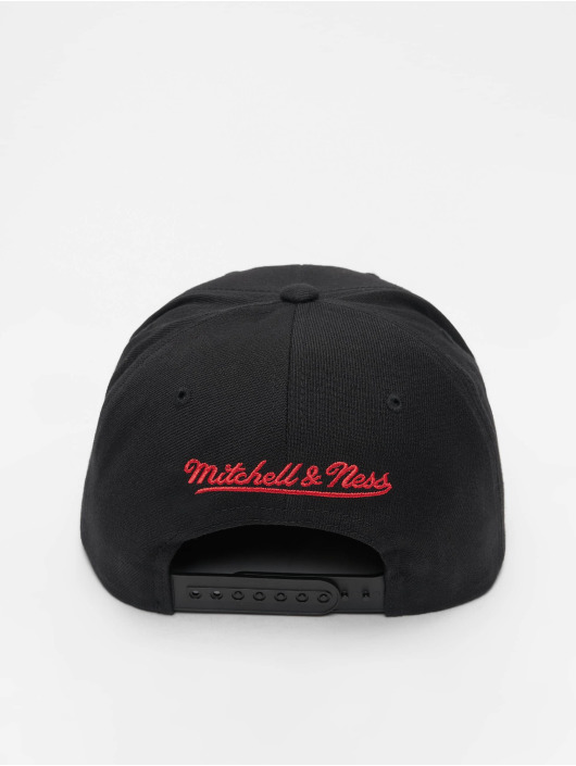 Mitchell & Ness Snapback Cap NBA Wool Solid Chicago Bulls nero