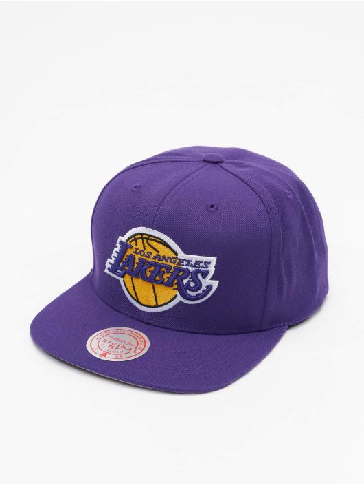 Mitchell & Ness Snapback Cap Team Ground Los Angeles Lakers purple