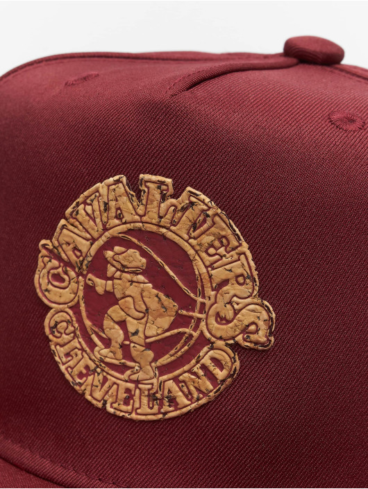 Mitchell & Ness Snapback Cap HWC Cork Cleveland Cavaliers red