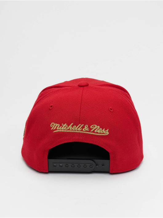 Mitchell & Ness Snapback Cap Seeing Chicago Bulls red