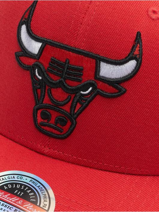 Mitchell & Ness Snapback Cap Team Ground Chicago Bulls Stretch red