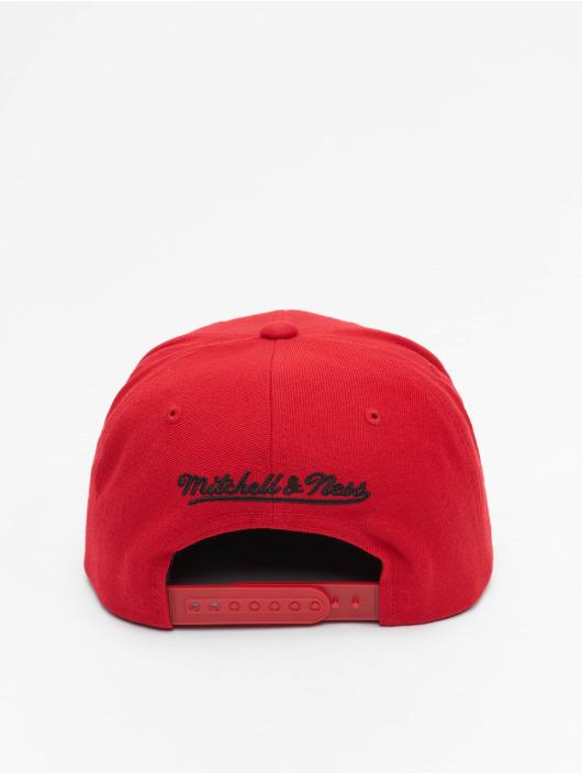 Mitchell & Ness Snapback Cap Team Ground Chicago Bulls red