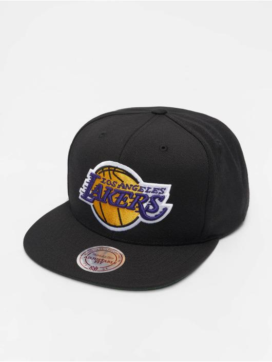 Mitchell & Ness Snapback Cap NBA Wool Solid schwarz