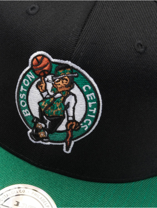 Mitchell & Ness Snapback Cap NBA Boston Celtics 110 2 Tone schwarz