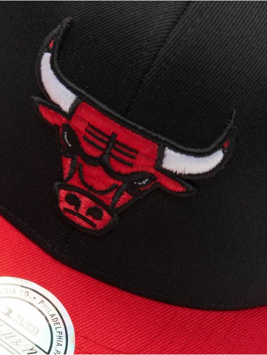 Mitchell & Ness Snapback Cap NBA Chicago Bulls 110 2 Tone schwarz