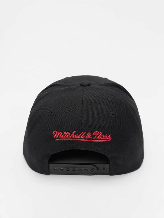 Mitchell & Ness Snapback Cap NBA Wool Solid Chicago Bulls schwarz