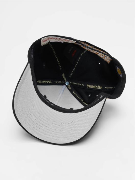 Mitchell & Ness Snapback Cap NBA LA Lakers 110 Curved Eazy schwarz
