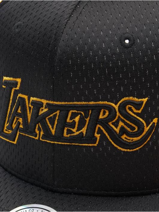 Mitchell & Ness Snapback Cap Series La Lakers schwarz