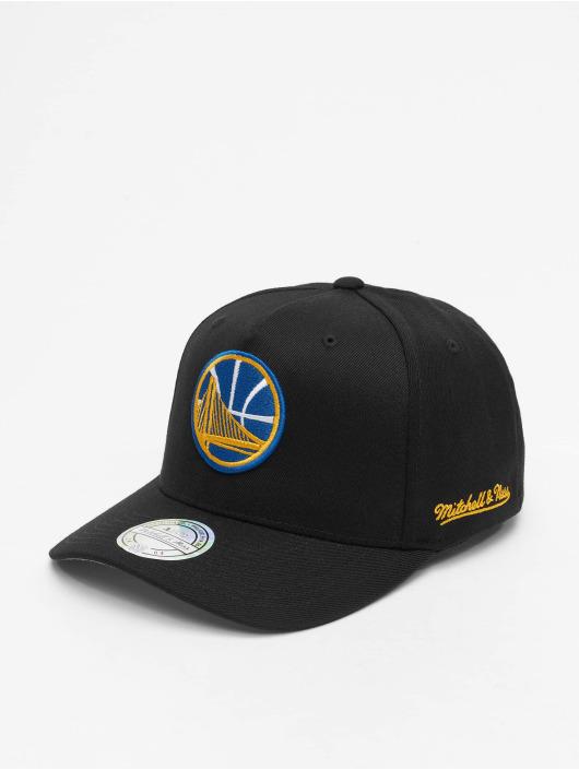 Mitchell & Ness Snapback Cap NBA HWC Eazy 110 Curved Golden State schwarz