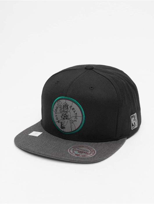Mitchell & Ness Snapback Cap Reflective Duo schwarz