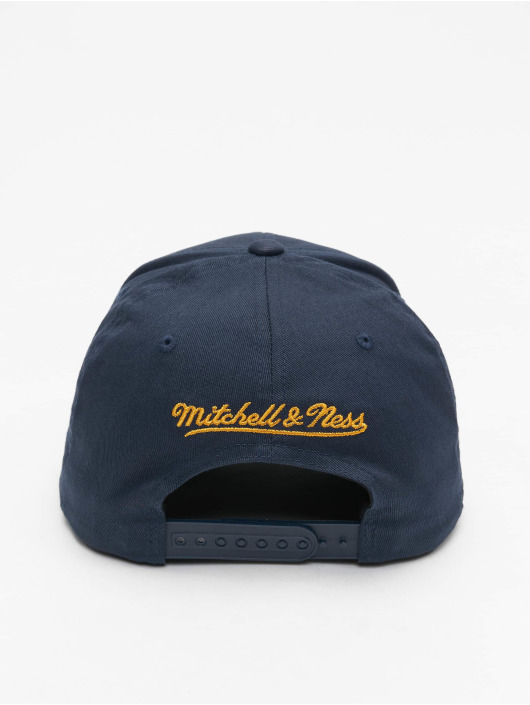 Mitchell & Ness Snapback Cap Golden State Warriors Team Logo High Crown 6 Panel 110 schwarz
