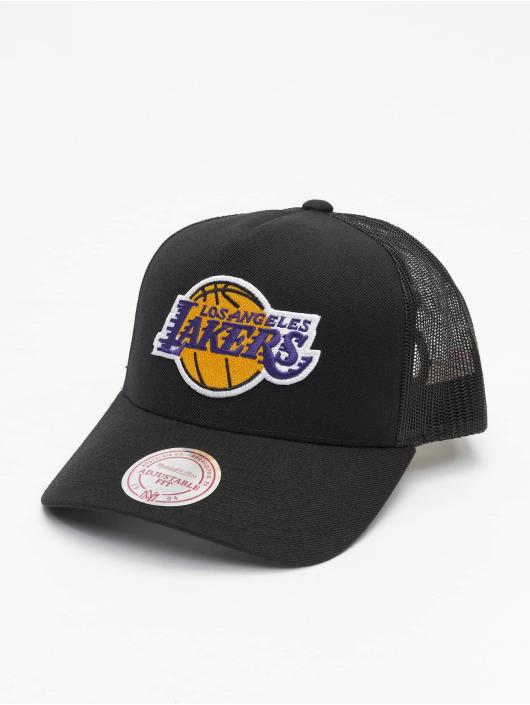 Mitchell & Ness Snapback Cap NBA L.A. Lakers Team Logo Classic schwarz