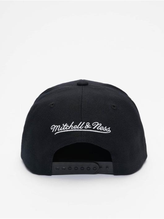 Mitchell & Ness Snapback Cap Wildback HWC Chicago Bulls schwarz