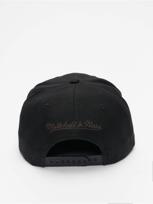 Mitchell & Ness Snapback Cap Blitzed HWC Miami Heat schwarz